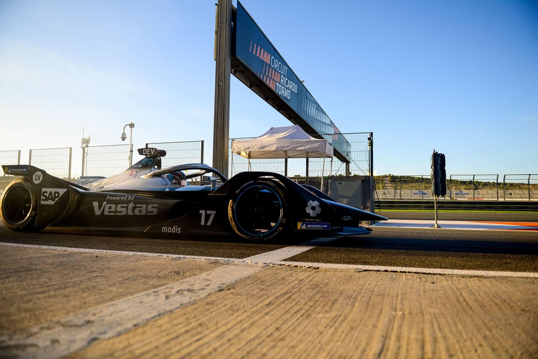 Mercedes-Benz-EQ-Pit-Exit-pre-season-testing