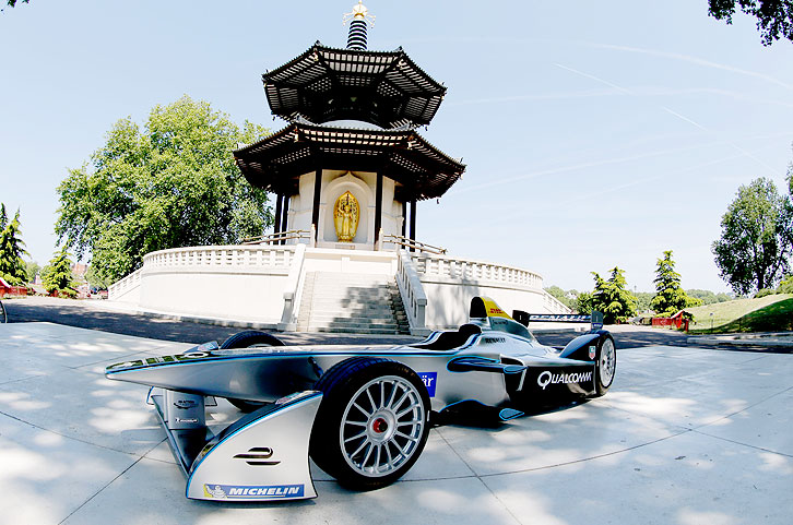 Spark-Renault SRT 01E beim Presse Event in London