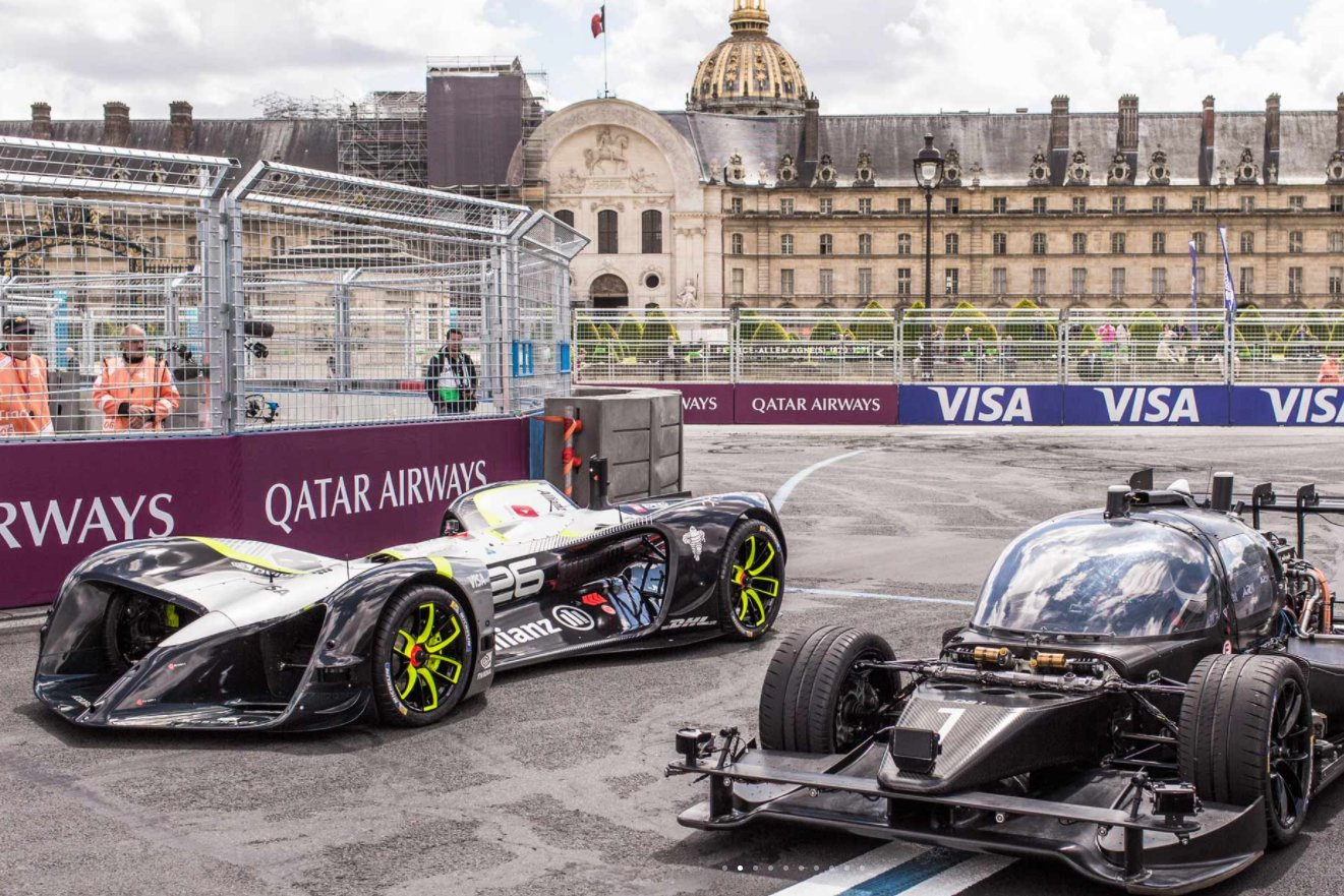 Roborace-first-public-run-Paris-Formula-E-