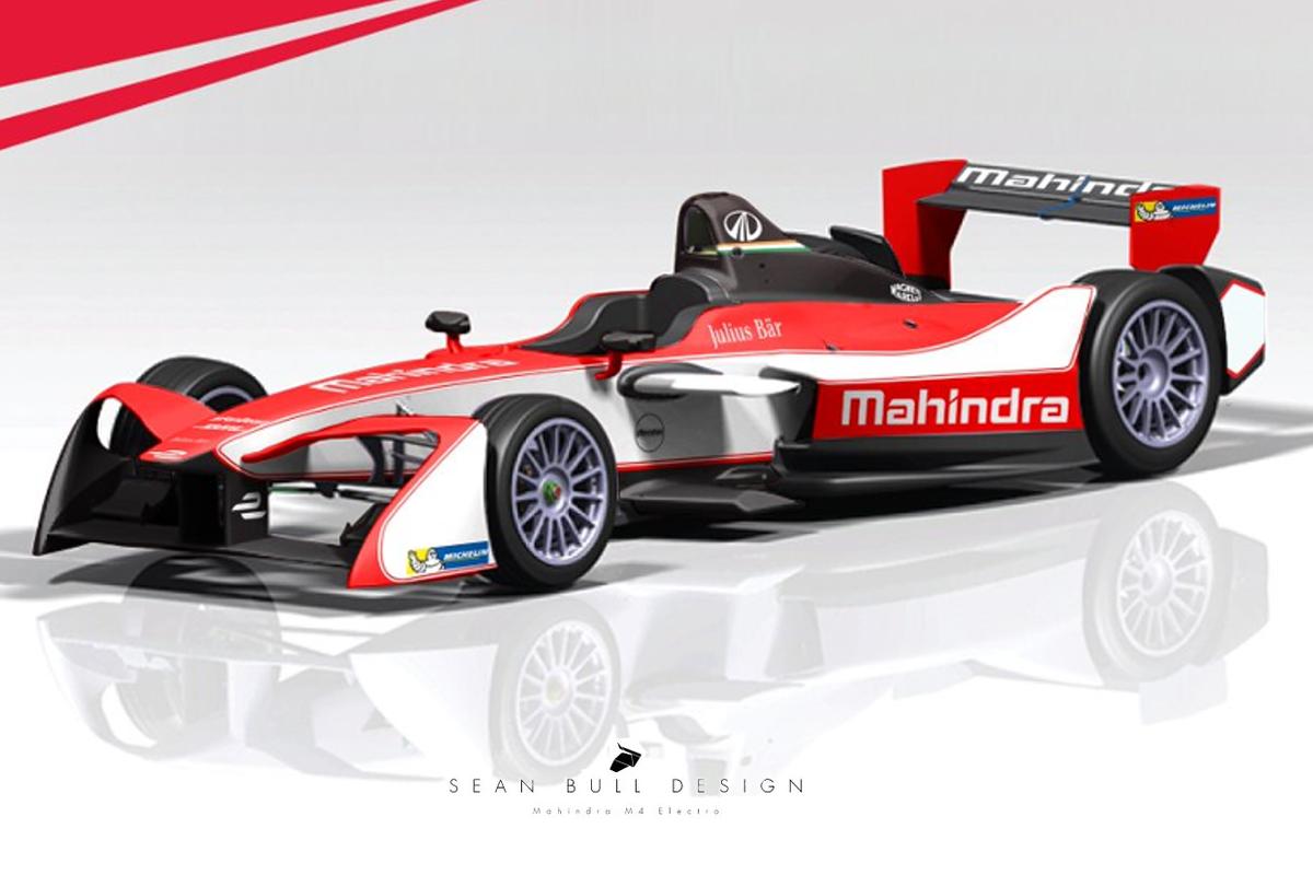 Formel E: Mahindra präsentiert neue Lackierung für Saison 4