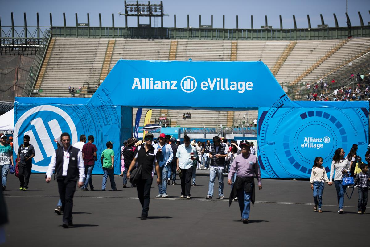 Entrance-Allianz-E-Village-Formula-E-Mexico