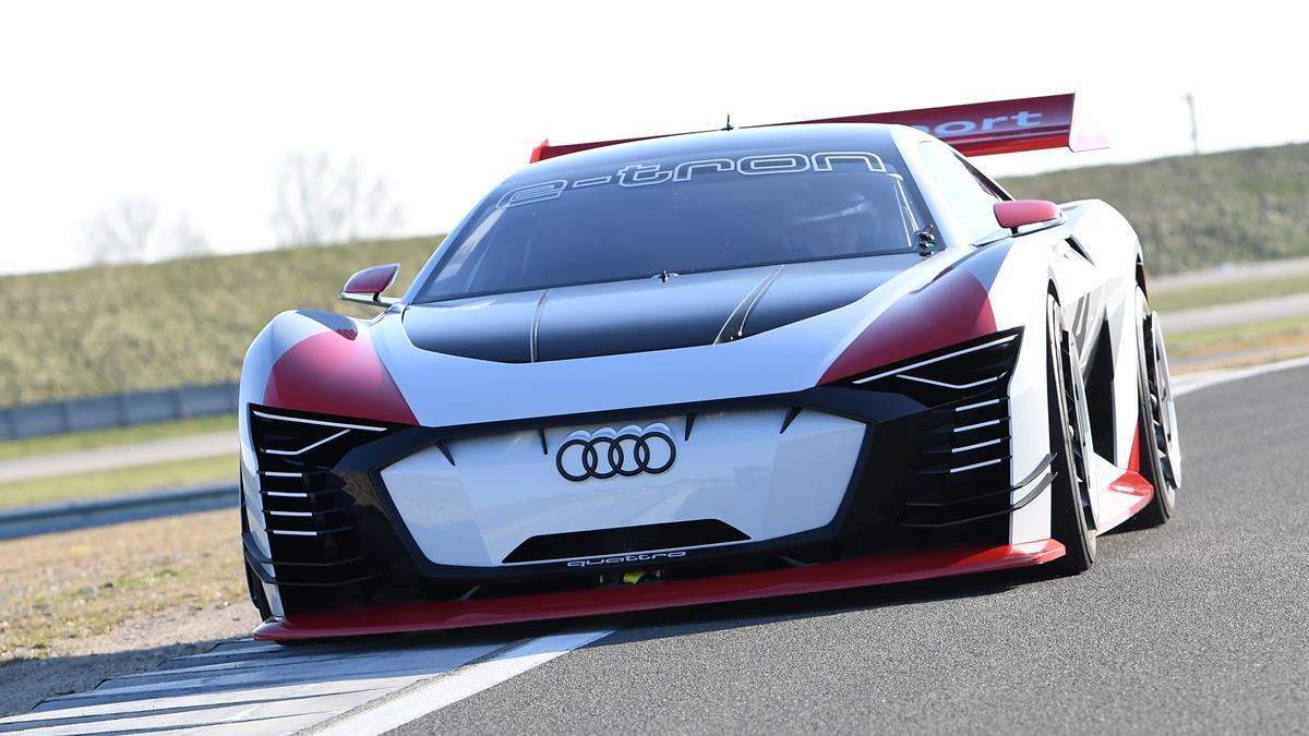 Audi Setzt E Tron Vision Gran Turismo Ab Rom Als Formel E