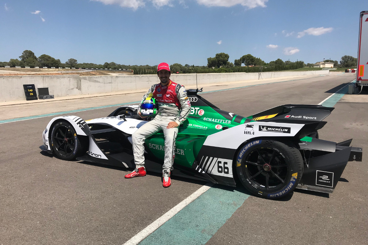 Lucas-di-Grassi-sits-on-new-Formula-E-Car