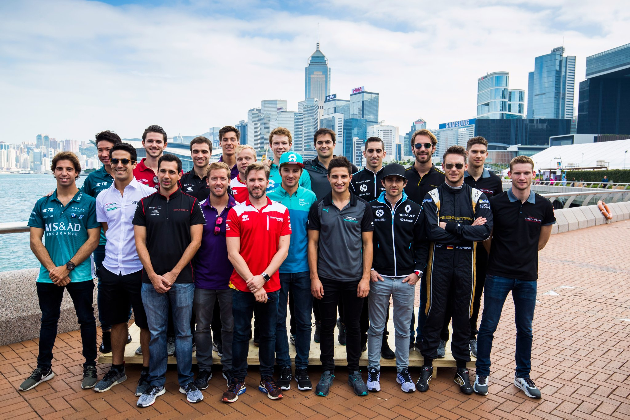 Formula-E-Drivers-Season-4-2017-2018-Hong-Kong
