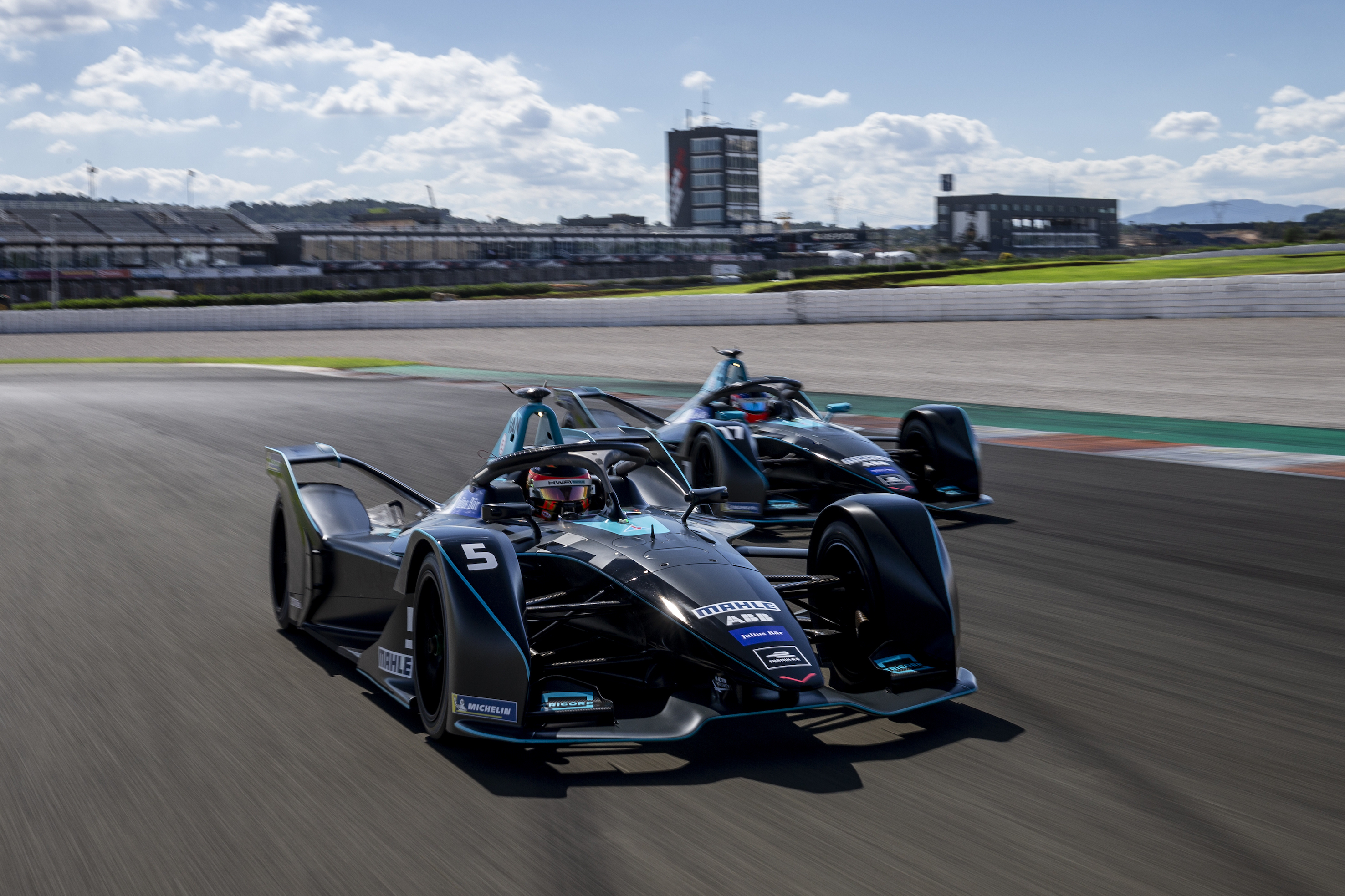 HWA-RACELAB-Valencia-Formula-E-Test-both-Cars