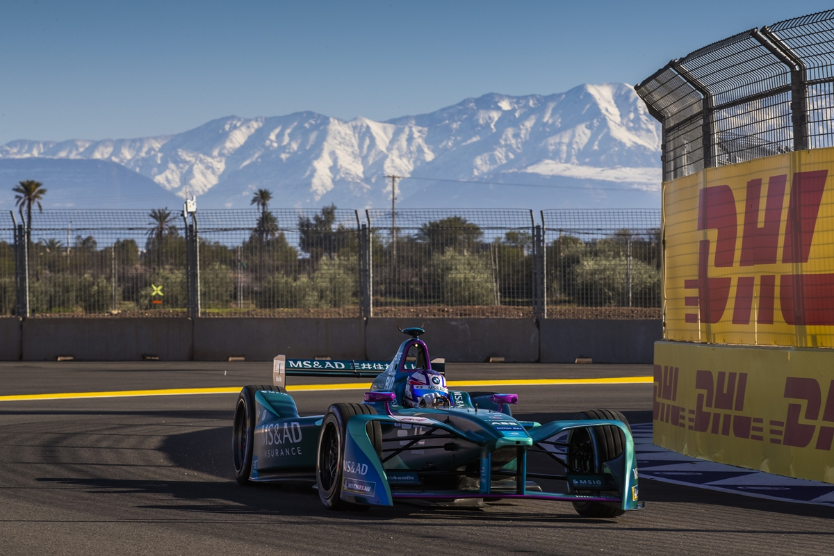 Andretti-Formula-E-Car-Atlas-Mountains