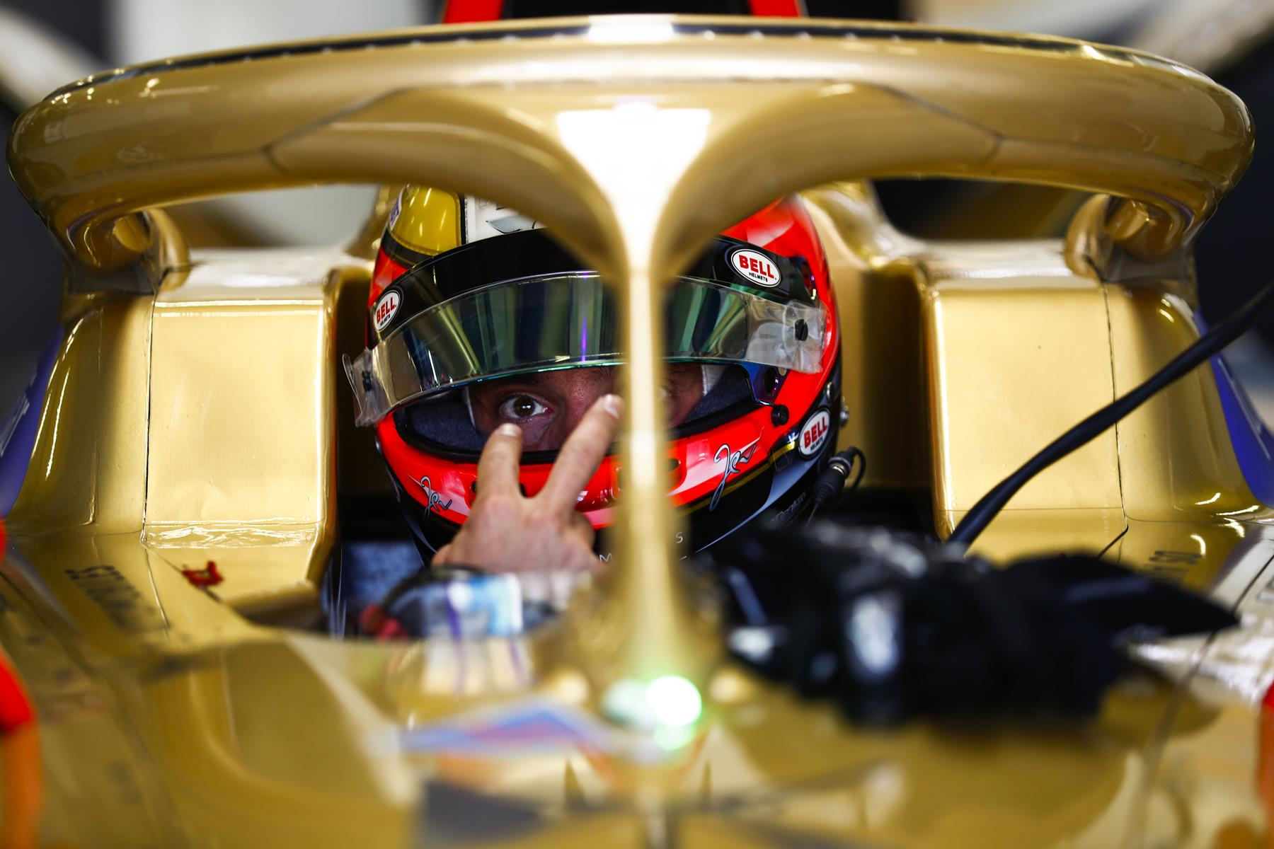 Jean-Eric-Vergne-Watching-in-Cockpit
