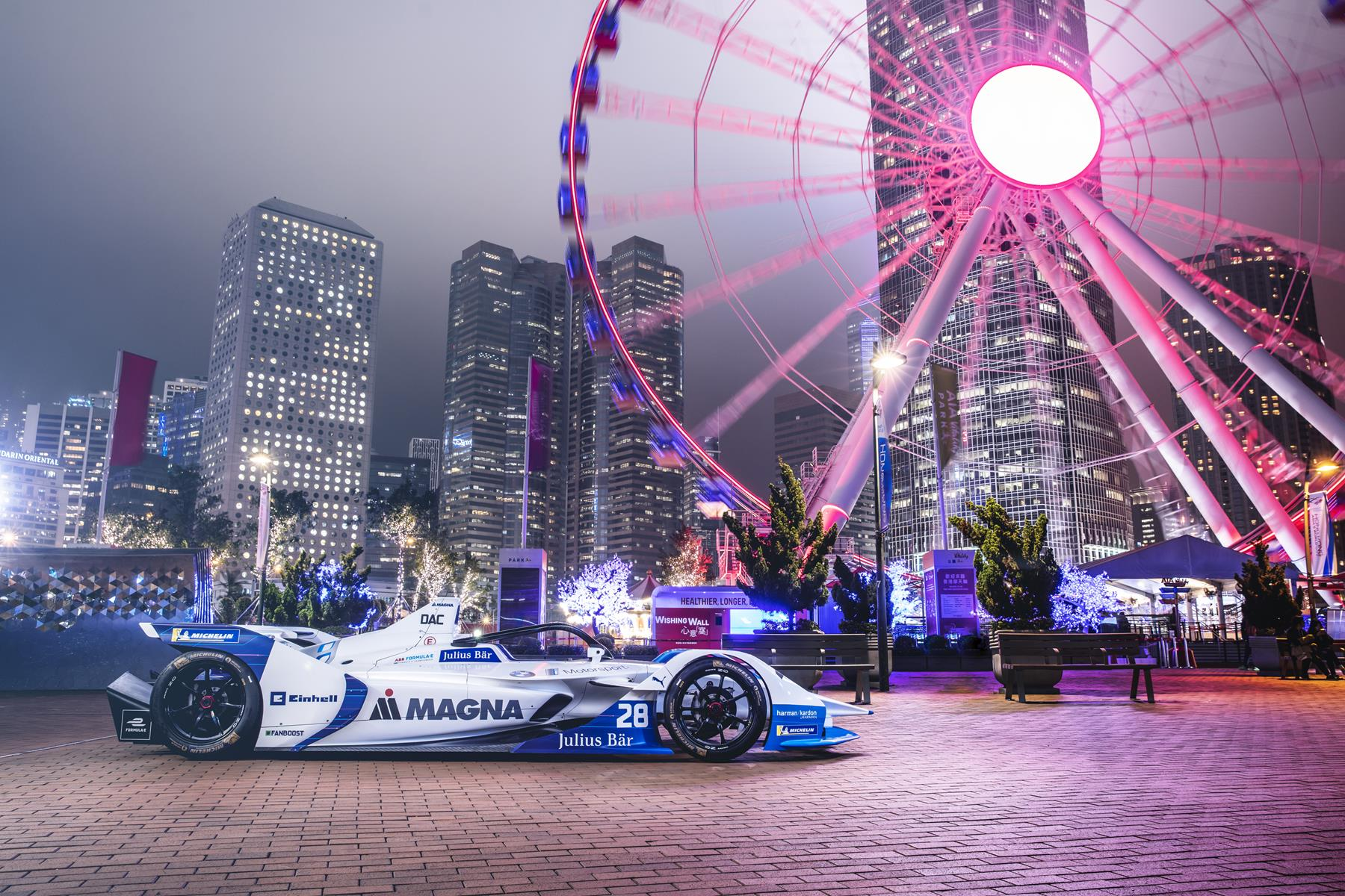 BMW-Formula-E-Car-Hongkong-Shooting