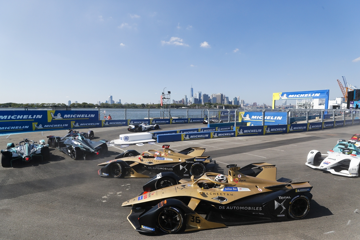 Lotterer-Vergne-Techeetah-Manhattan