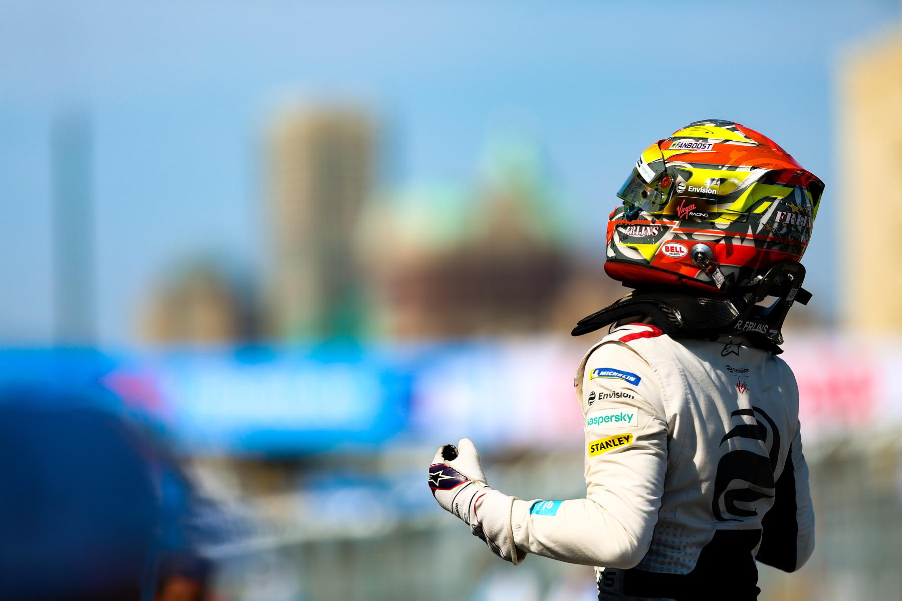 Robin-Frijns-celebrates-New-York-Win