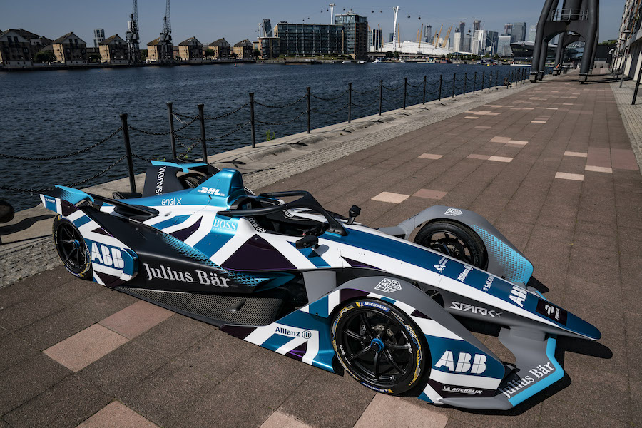 Formula-E-Car-with-Union-Jar-on-Top