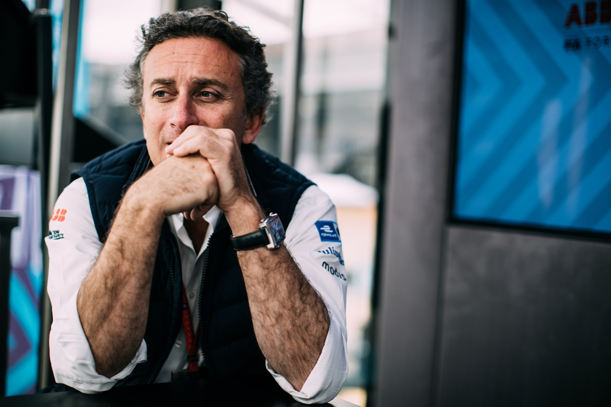 Alejandro-Agag-Formula-E-CEO-Watch-Pondering-Thoughts