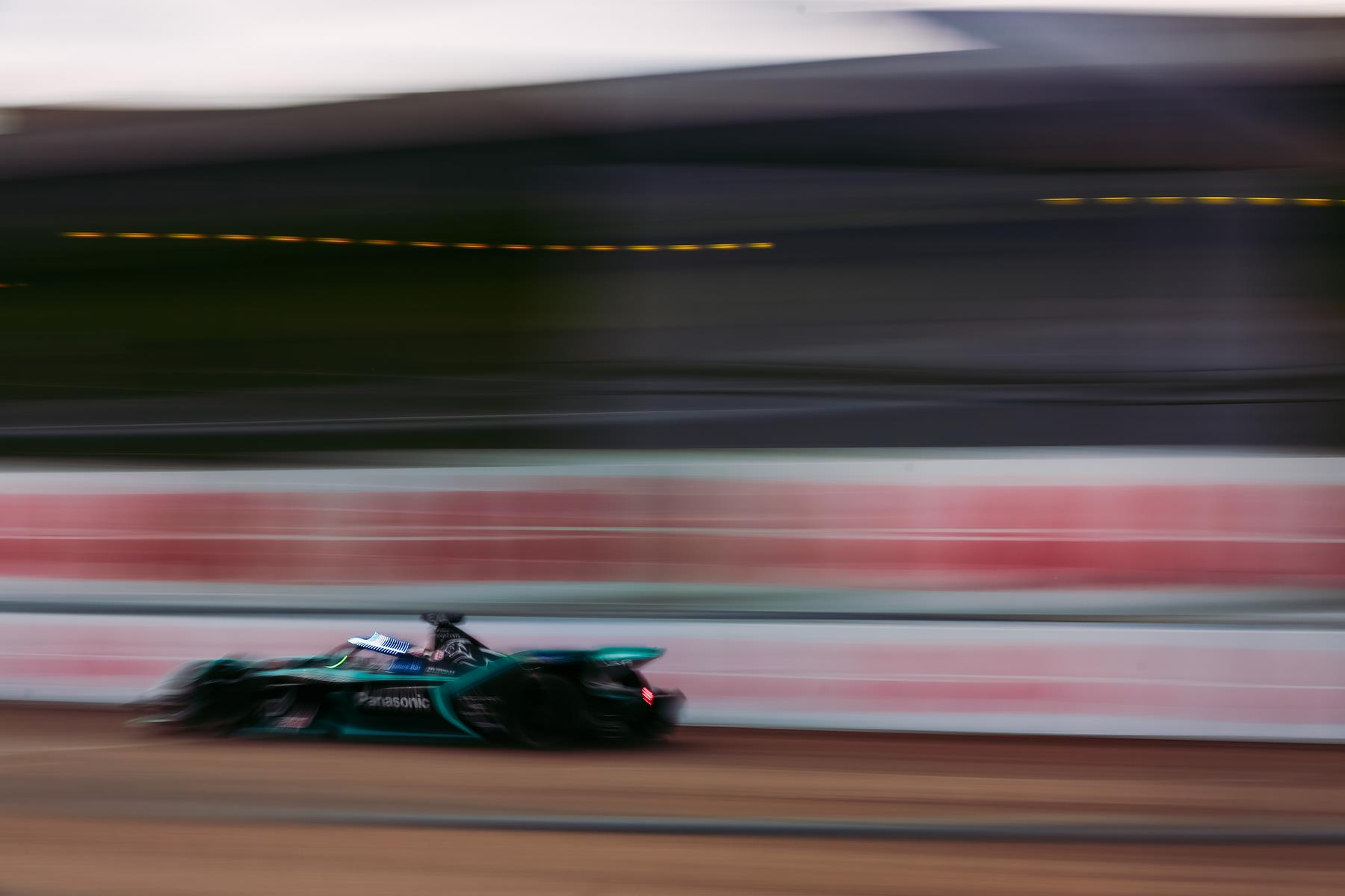 Mitch-Evans-Panasonic-Jaguar-Racing-Berlin-E-Prix-2020-Attack-Mode-activated-ABB-logo-background-blur