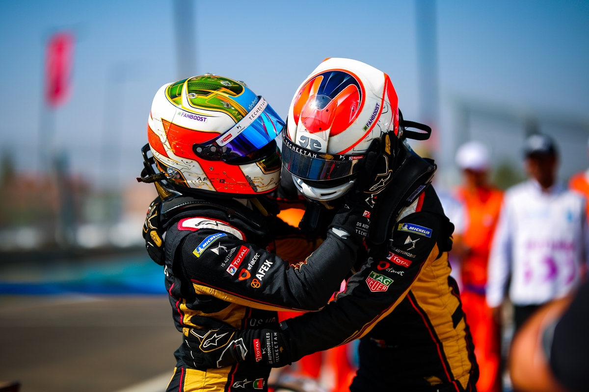 Techeetah-Hug-Morocco-Double-Podium