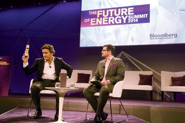 "Alejandro Agag spricht bei der: ""The Future of Energy Summit 2014"""